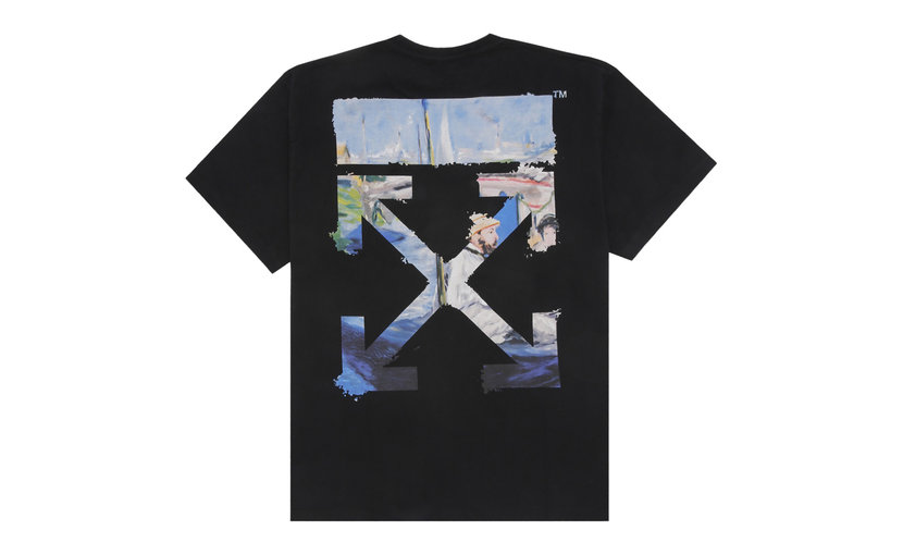 Off-White Oversized Diag Arrows T-Shirt 'Black'
