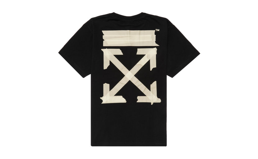Off-White Tape Arrows T-Shirt 'Black'