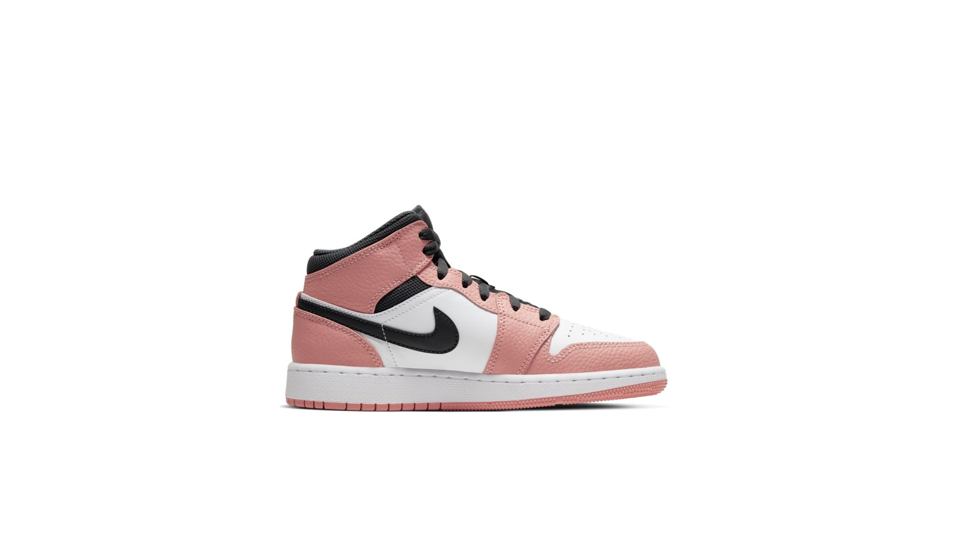 Jordan Air Jordan 1 Mid 'Pink Quartz' (GS)