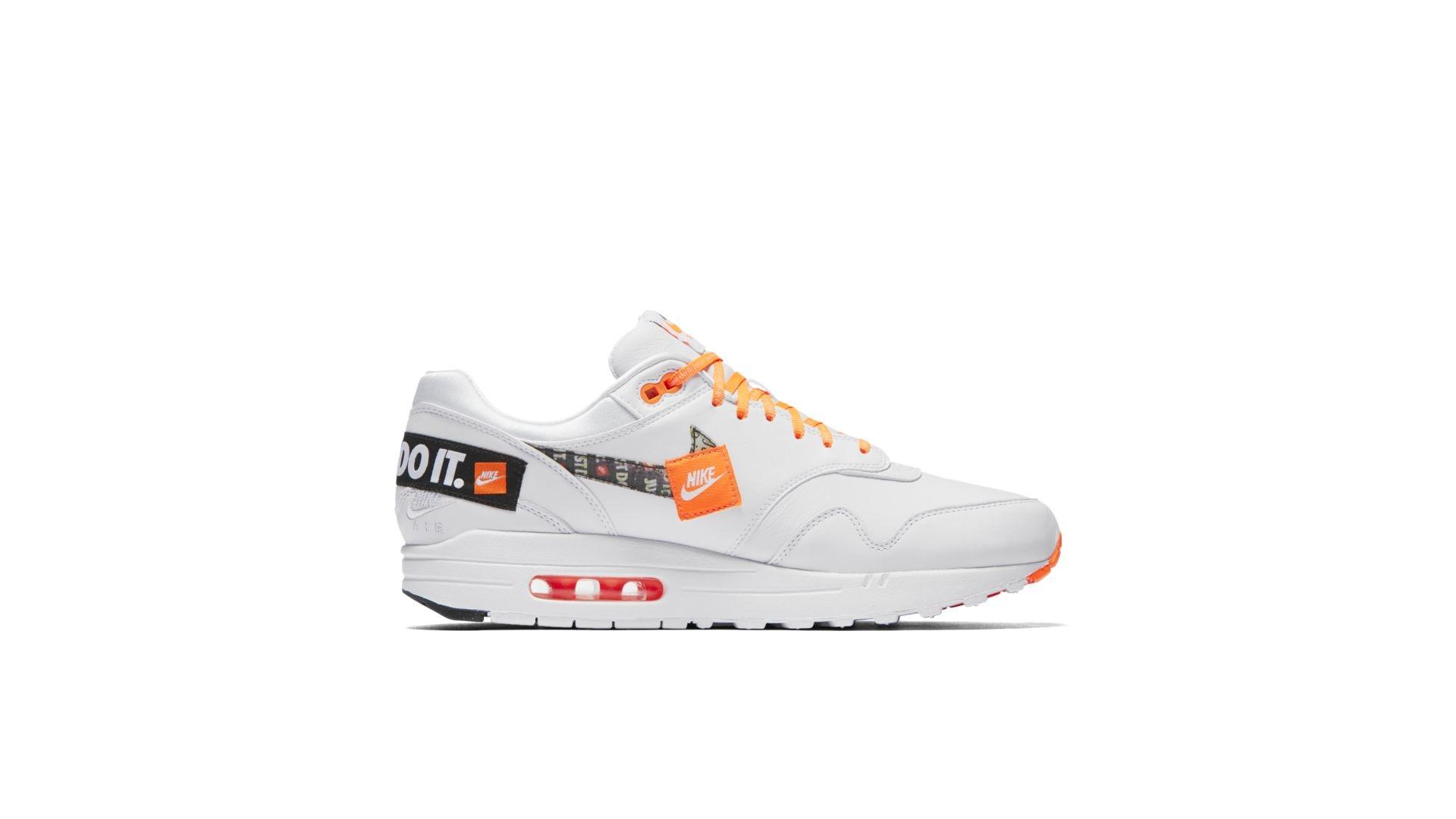 Nike Air Max 1 'Just Do It White' - Sneakin