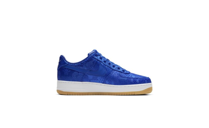 Nike Air Force 1 Low x CLOT 'Blue Silk'