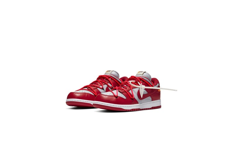 Nike Off-White Dunk Low 'University Red'