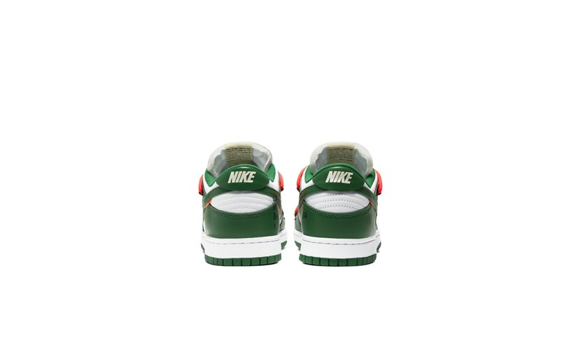 Nike Off-White Dunk Low 'Pine Green'