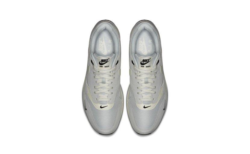 Nike Air Max 1 Mini Swoosh 'Pure Platinum'