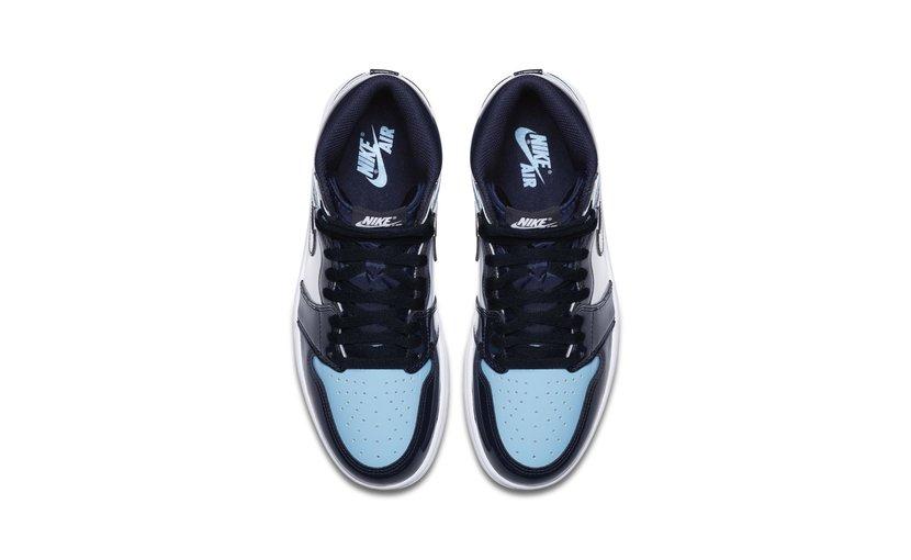 Jordan Air Jordan 1 High 'UNC Patent Blue' (W)
