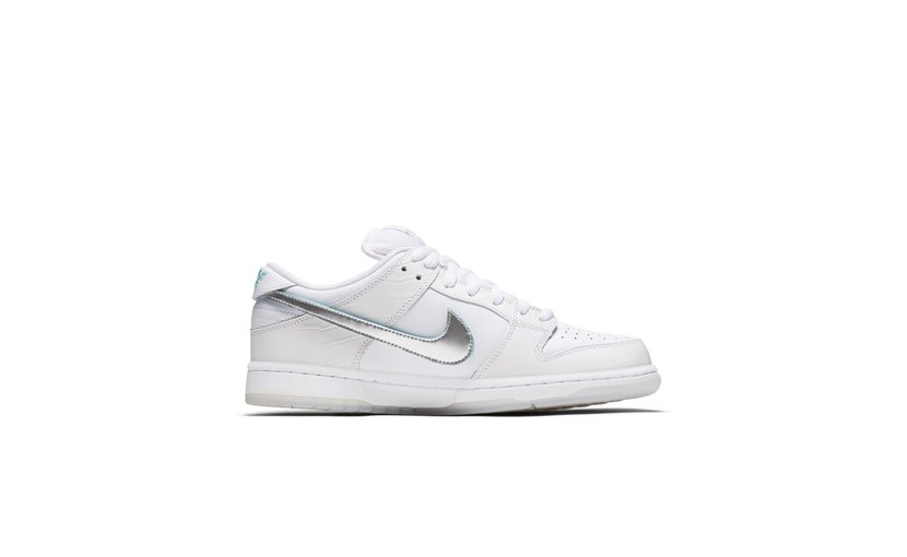 Nike Diamond Supply Co. SB Dunk Low 'White'