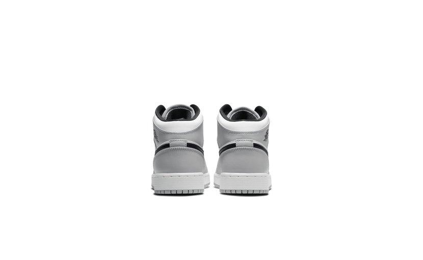 Jordan Air Jordan 1 Mid 'Light Smoke Grey' (GS)