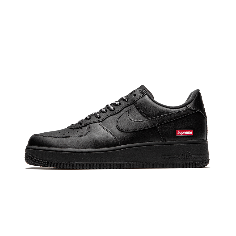 inercia Refinamiento complemento  Nike Air Force 1 Low 'Supreme Black' - Sneakin