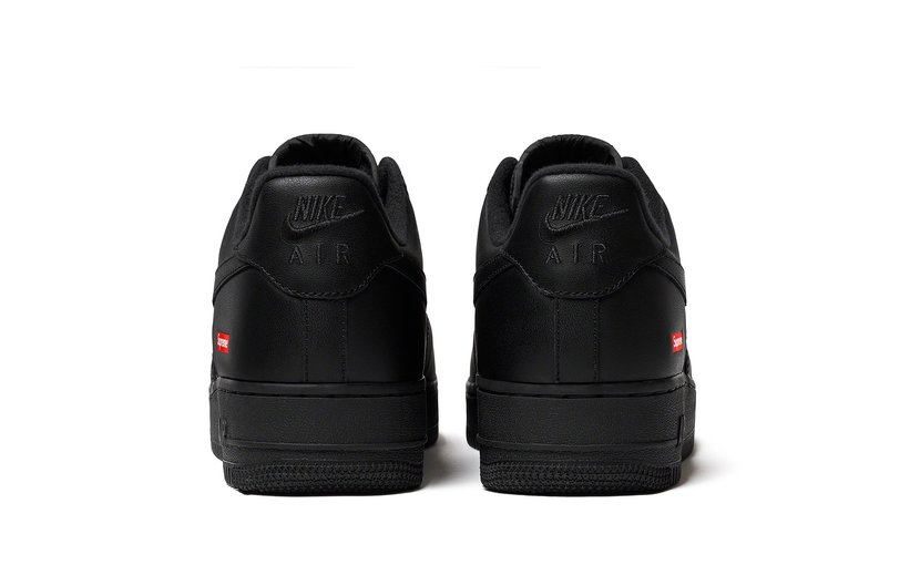 Nike Air Force 1 Low 'Supreme Black'