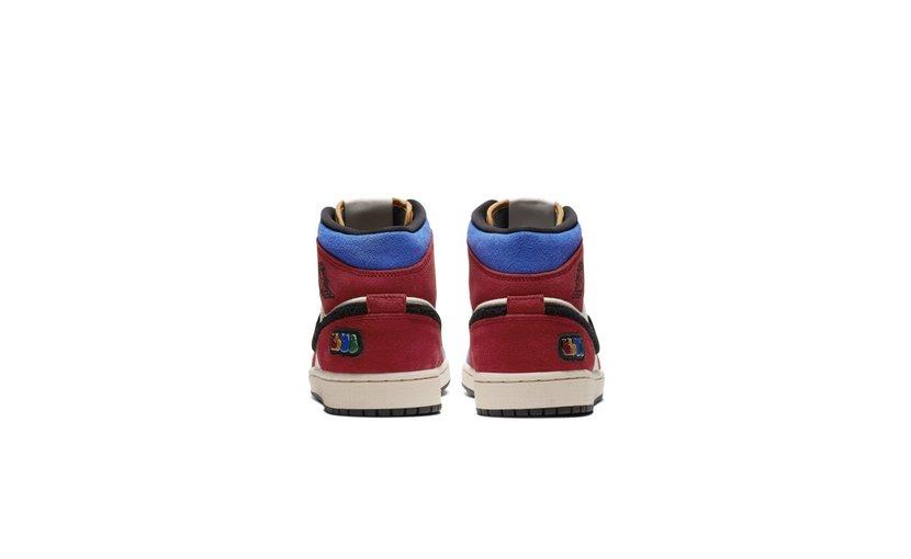 Jordan Air Jordan 1 Mid 'Fearless Blue the Great'