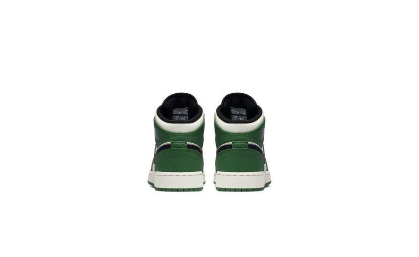 Jordan Air Jordan 1 Mid 'Pine Green' (GS)