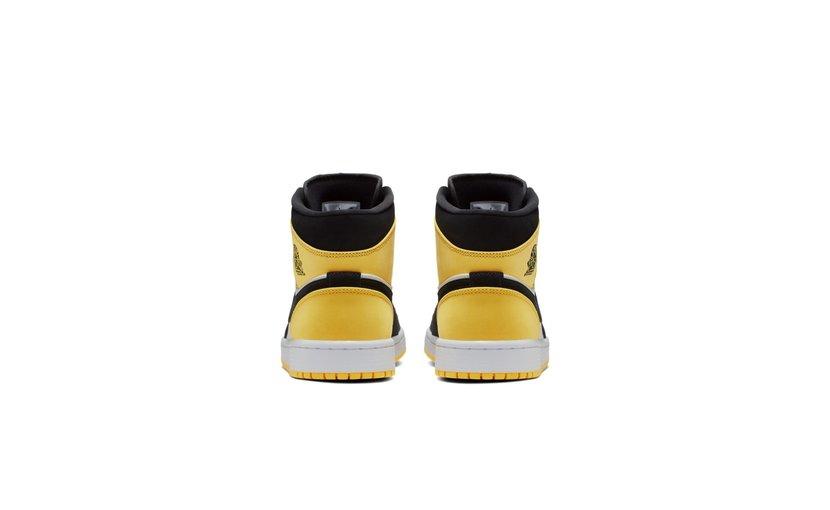 Jordan Air Jordan 1 Mid 'Yellow Toe'
