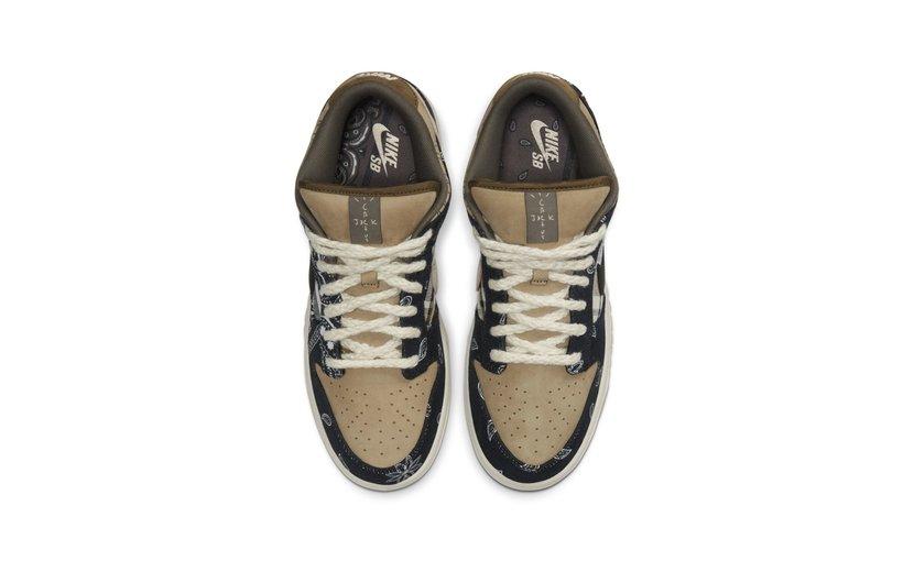 Nike Travis Scott Dunk Low 'Cactus Jack'