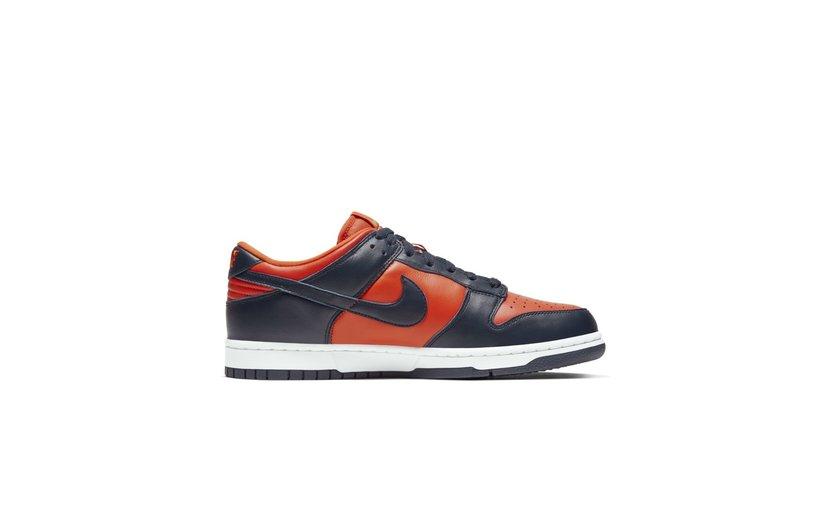 Nike Dunk Low SP 'Champ Colors University Orange Marine' (2020)
