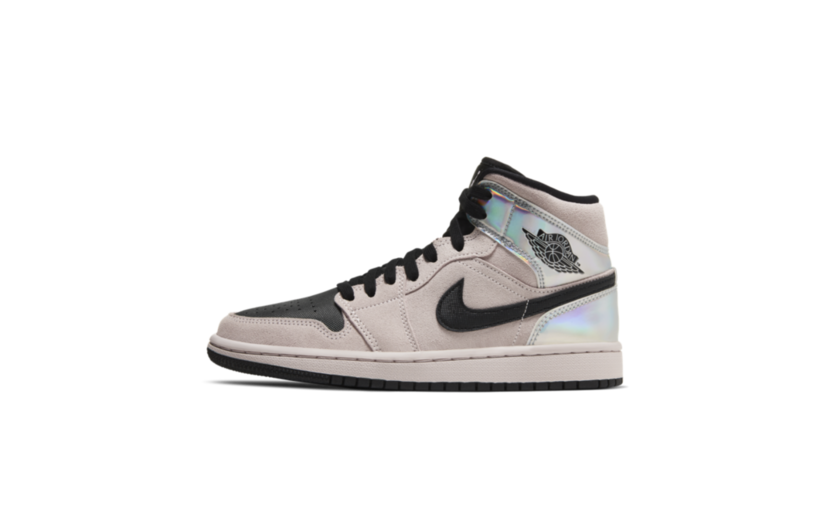 Jordan Air Jordan 1 Mid 'Dirty Powder Iridescent' (W)
