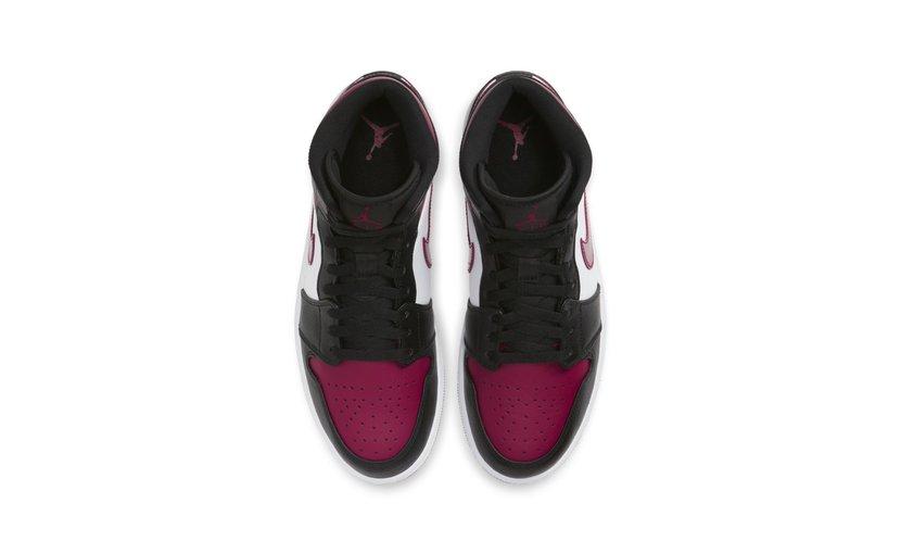 Jordan Air Jordan 1 Mid 'Bred Toe'