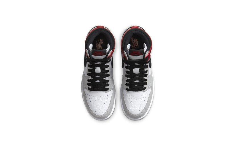 Jordan Air Jordan 1 High 'Light Smoke Grey' (GS)