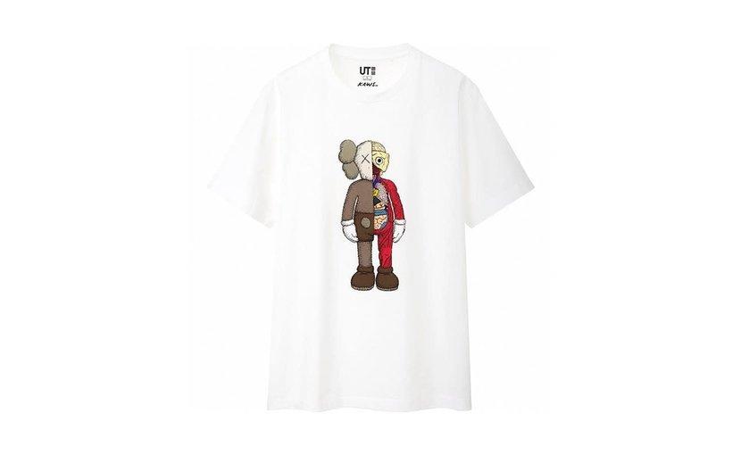 Uniqlo KAWS Flayed T-Shirt 'White'