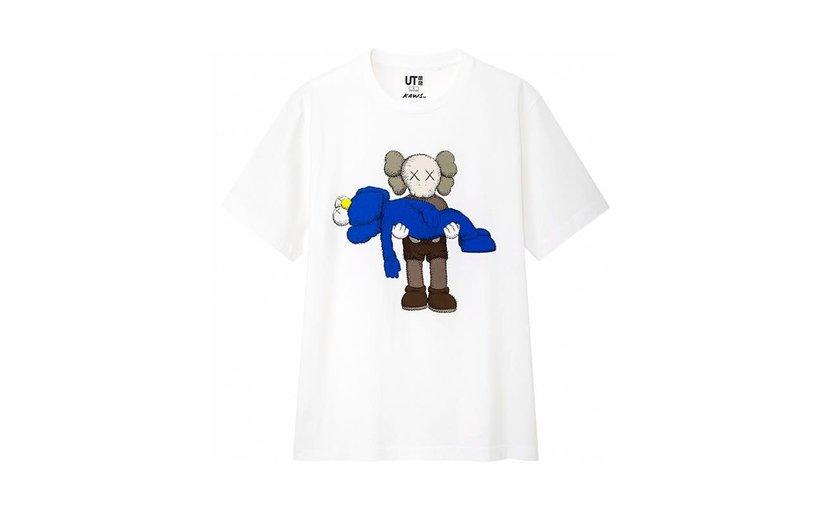 Uniqlo KAWS Gone T-Shirt 'White'