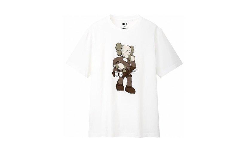 Uniqlo KAWS Clean Slate T-Shirt 'White'
