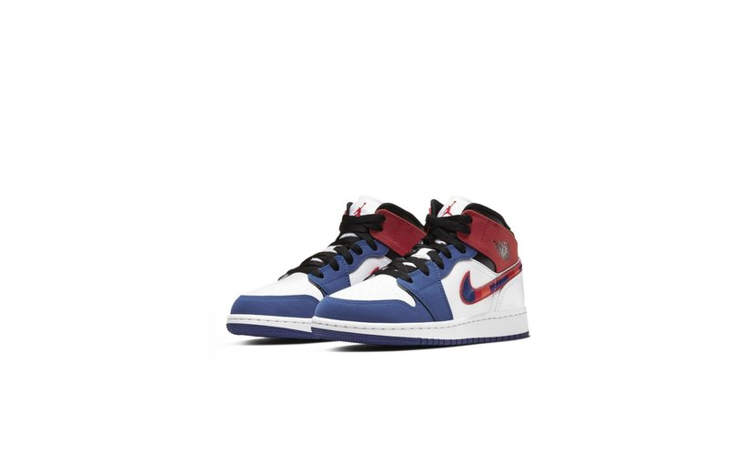 Jordan Air Jordan 1 Mid 'Rush Blue' (GS)