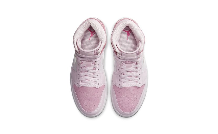 Jordan Air Jordan 1 Mid 'Digital Pink' (W)