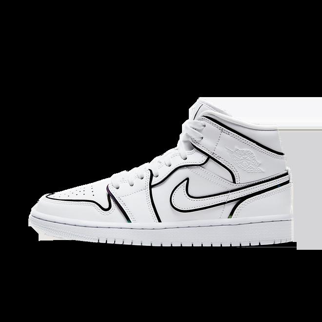 Air Jordan 1 Mid 'Iridescent Reflective