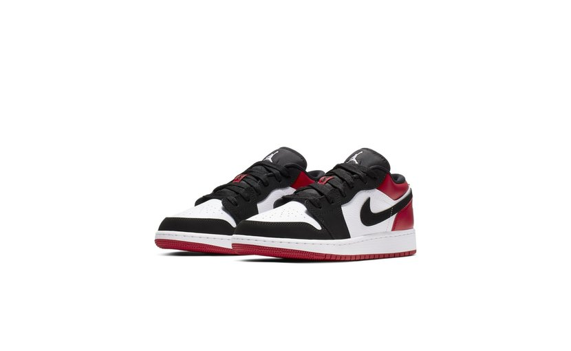 Jordan Air Jordan 1 Low 'Black Toe' (GS)