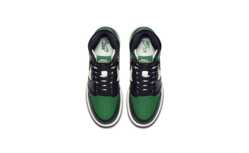 Jordan Air Jordan 1 High 'Pine Green' (GS)