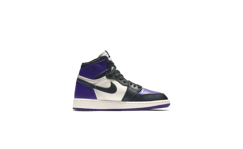 Jordan Air Jordan 1 High 'Court Purple' (GS)