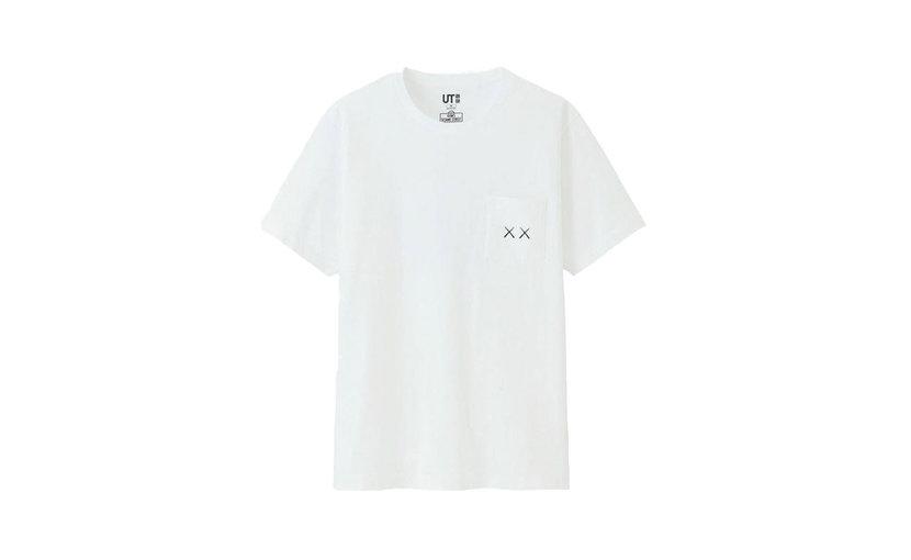 Uniqlo KAWS x Uniqlo x Sesame Street XX Pocket T-Shirt 'White'