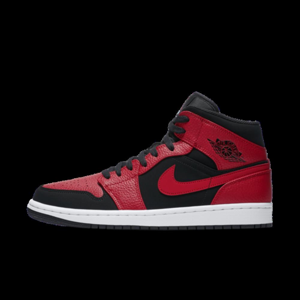 Air Jordan 1 Mid 'Reverse Bred' - Sneakin