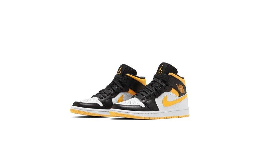 Jordan Air Jordan 1 Mid 'Laser Orange Black' (W)