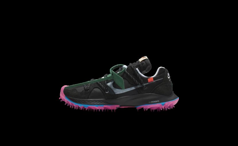 Nike Off-White Zoom Terra Kiger 5 'Black' (W)