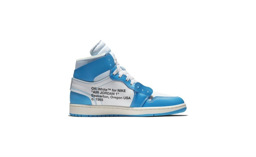 Jordan Air Jordan 1 High x Off-White 'University Blue'