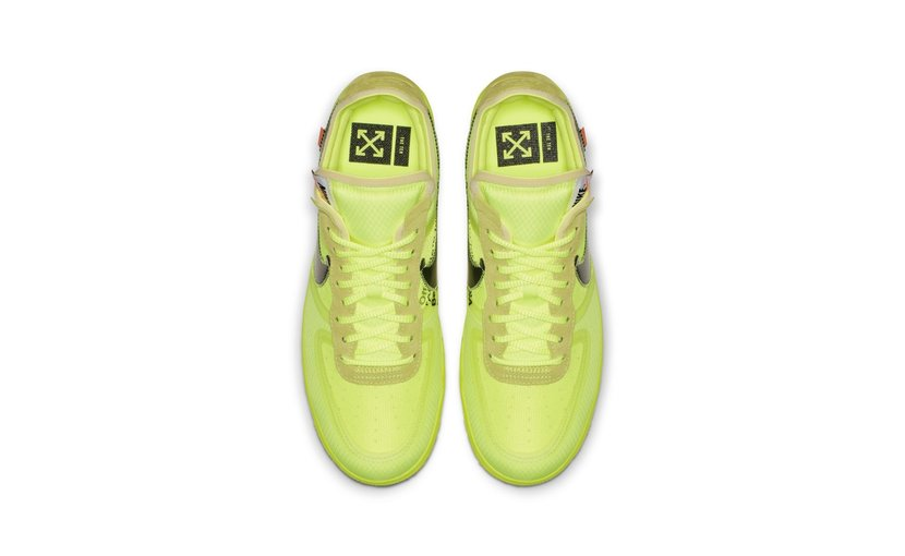 Nike Off-White Air Force 1 Low 'Volt'