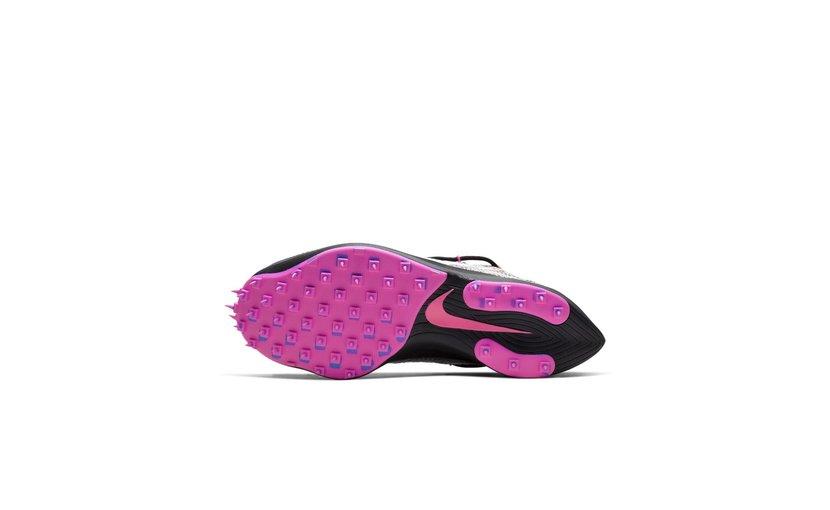 Nike Off-White Vapor Street 'Black Laser Fuchsia' (W)