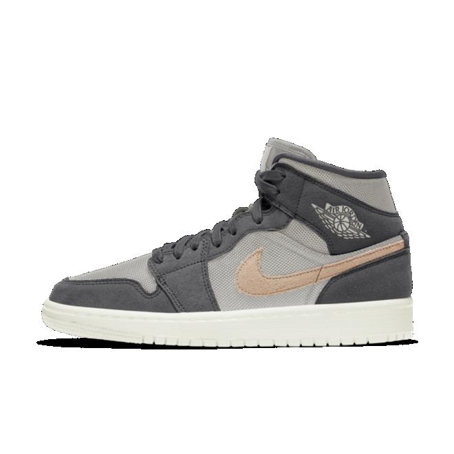 Air Jordan 1 Mid 'Iron Grey' (W) - Sneakin