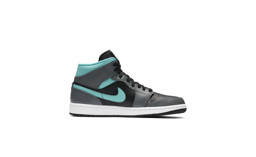 Jordan Air Jordan 1 Mid 'Grey Aqua'