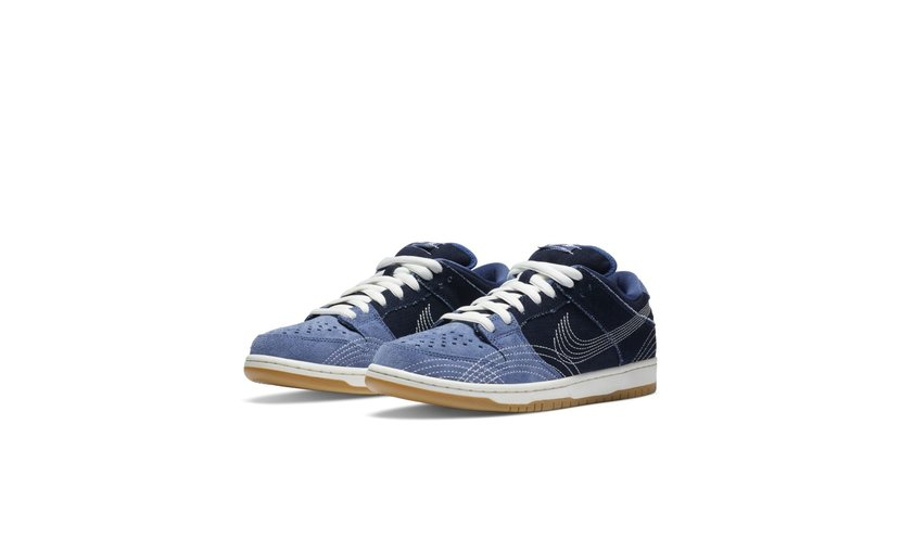Nike SB Dunk Low 'Denim Sashiko'
