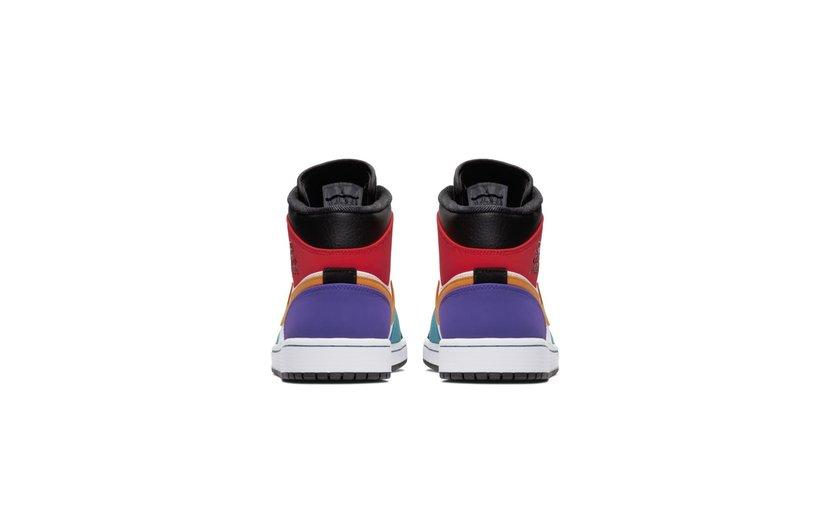 Jordan Air Jordan 1 Mid 'Bred Multi-Color'