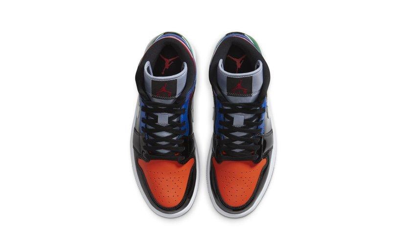 Jordan Air Jordan 1 Mid 'Multi Patent' (W)