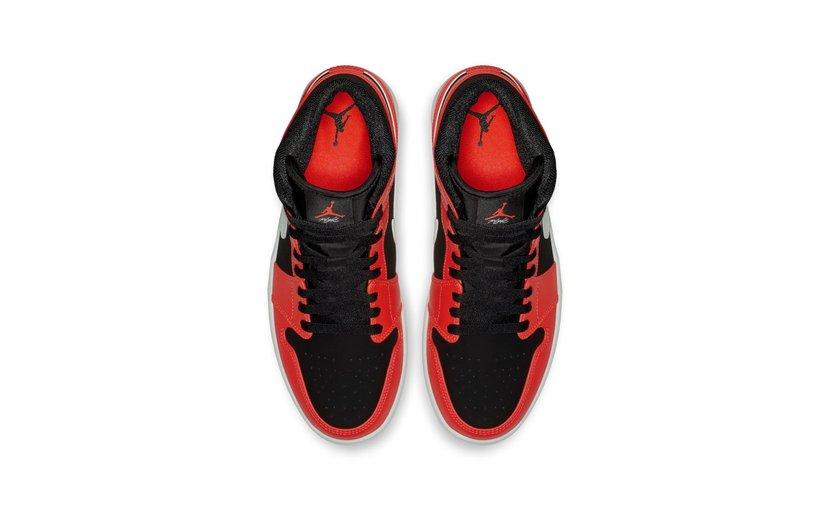 Jordan Air Jordan 1 Mid 'Infrared 23'