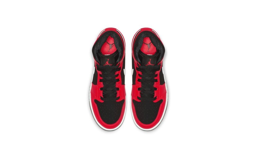 Jordan Air Jordan 1 Mid 'Infrared 23' (GS)