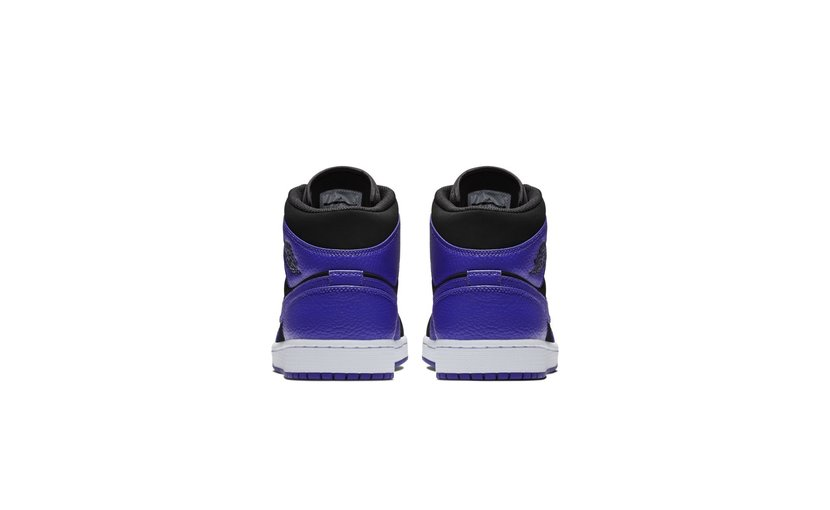Jordan Air Jordan 1 Mid 'Black Dark Concord'