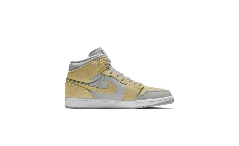 Jordan Air Jordan 1 Mid 'Mixed Textures Yellow'