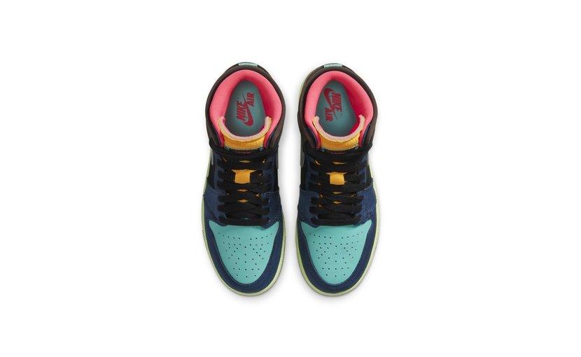 Jordan Air Jordan 1 High 'Tokyo Bio Hack' (GS)