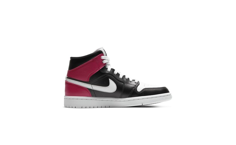 Jordan Air Jordan 1 Mid 'Black Noble Red' (W)