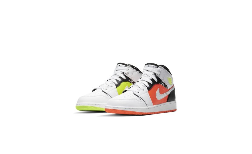 Jordan Air Jordan 1 Mid 'Composition Notebook' (GS)