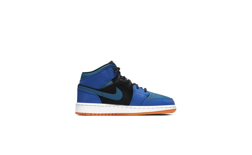 Jordan Air Jordan 1 Mid 'Racer Blue' (GS)